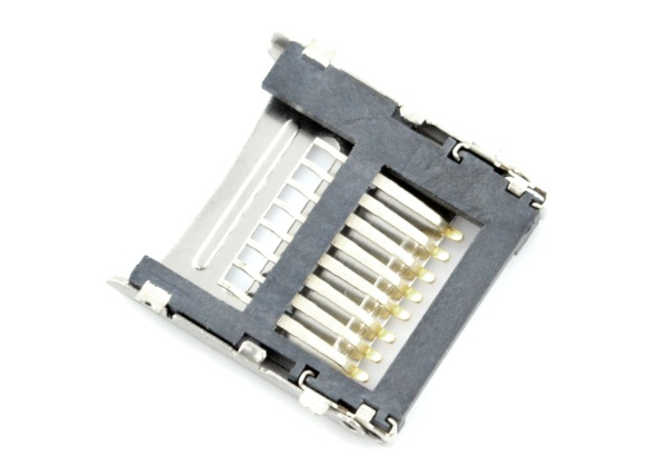 Gniazdo kart microSD z klapką