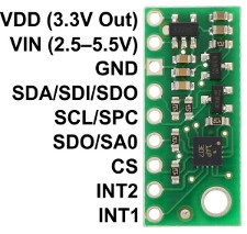 LPS331AP - czujnik ciśnienia i wysokości z regulatorem napięcia