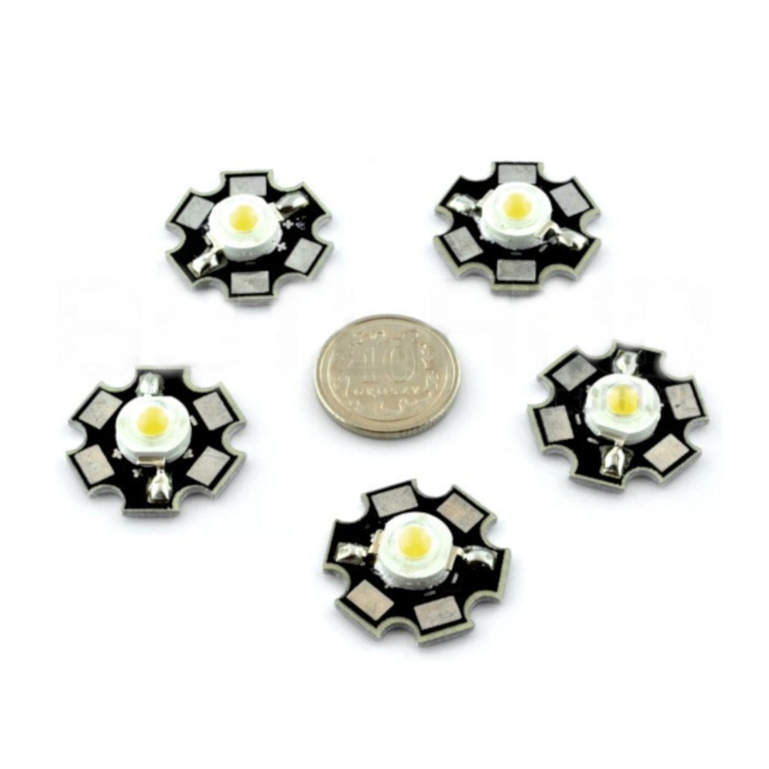 Dioda Power LED Star 1 W