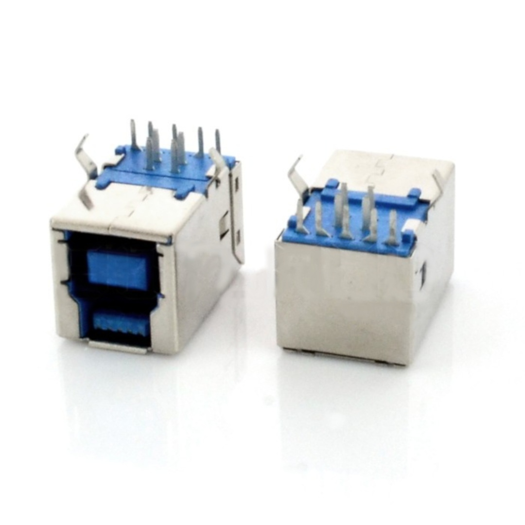 Gniazdo USB 3.0 typ B - do druku THT