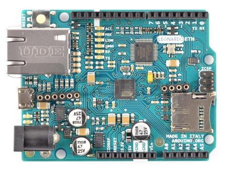 Arduino Leonardo Ethernet - moduł