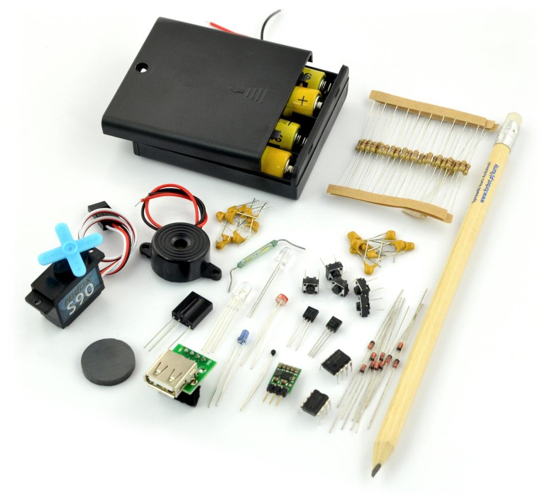Elementy zawarte w kursie elektroniki II