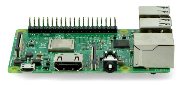 Raspberry Pi posiada złącze HDMI wersji 1.4.