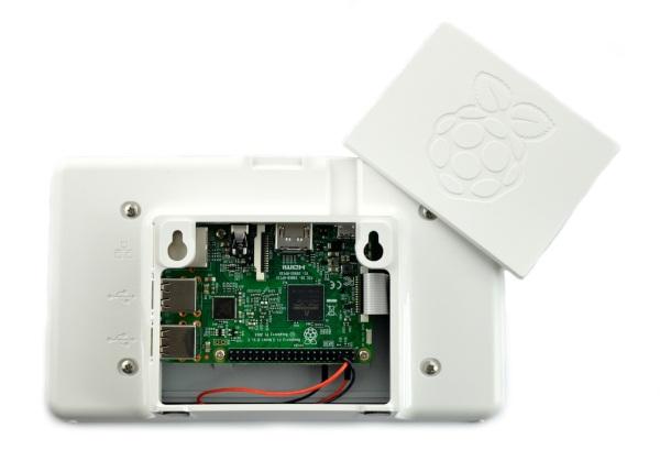 Obudowa do ekranu Raspberry Pi - biała