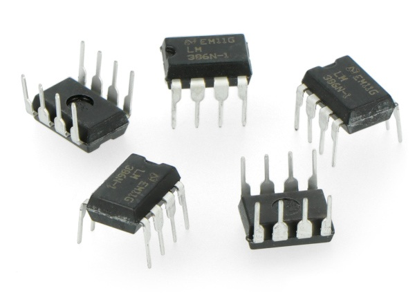 Wzmacniacz audio AB LM386 - 5szt.