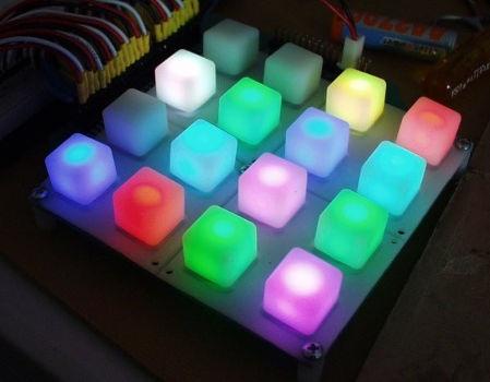 Płytka do przycisków - klawiatura 4x4