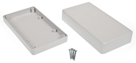 Obudowa plastikowa Kradex Z78J IP54 - 154x84x42mm jasna