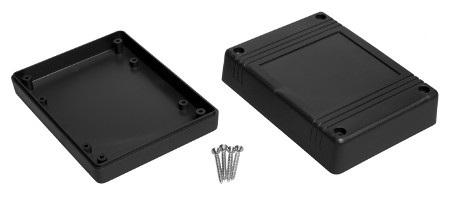 Obudowa plastikowa Kradex Z80 IP54 - 120x90x38mm czarna