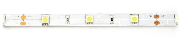 Pasek LED SMD5050 IP20 7,2W, 30 diod/m, 10mm, barwa zimna - 5m