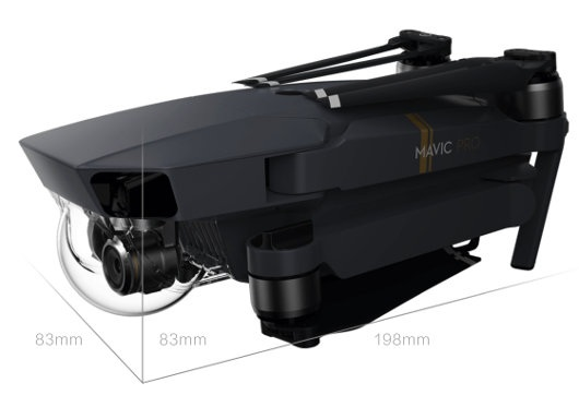 Dron quadrocopter DJI Mavic Pro