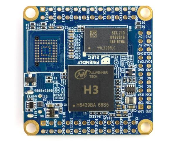 NanoPi NEO Core Allwinner H3 Quad-Core 1,2Ghz + 256MB RAM