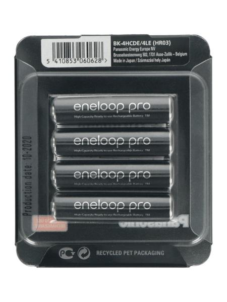 Akumulator Panasonic Eneloop Pro R3 AAA Ni-MH 930mAh - 4szt.
