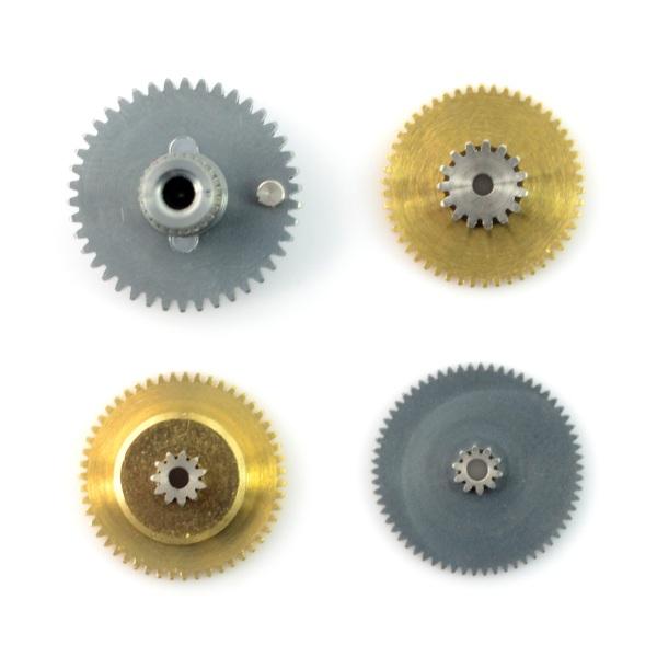 Zestaw tytanowych trybików i zębatek dla serw PowerHD LF-20MG