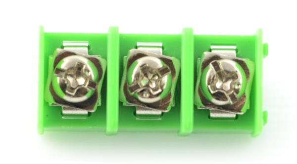 Listwa barierowa do PCB, 3-pinowa, raster 8,5mm