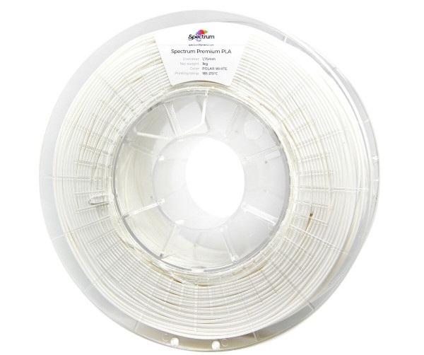 Filament Spectrum PLA 1,75mm 1kg - Polar White