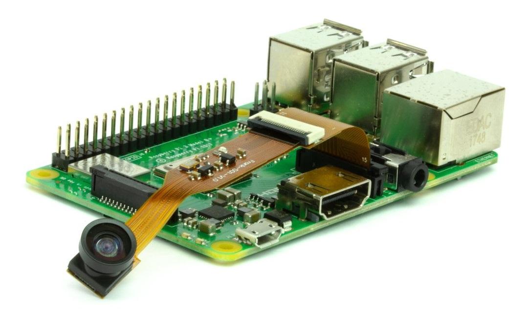 Przedmiotem sprzedaży jest sam adapter.KameręiRaspberrynależy zakupić osobno.