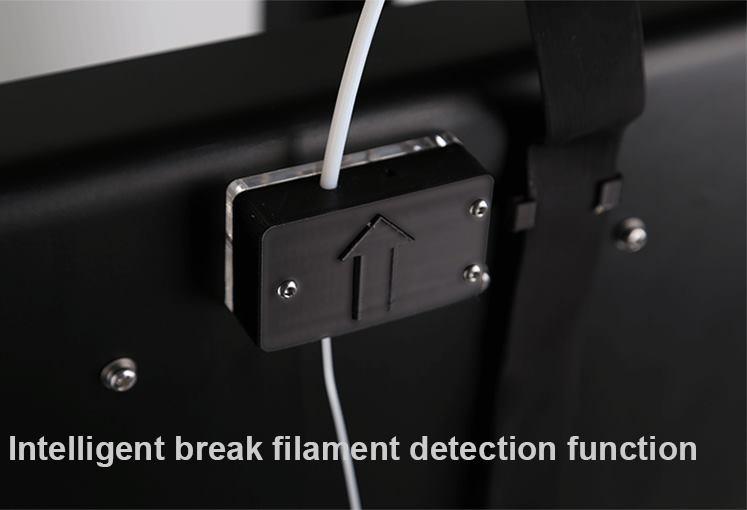 Funkcja wykrywania przerwanego filamentu w CR-2020