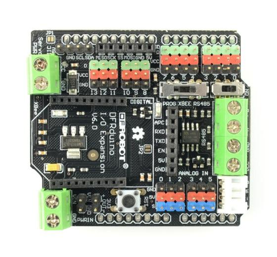DFRobot IO Expansion Shield dla Arduino V6a