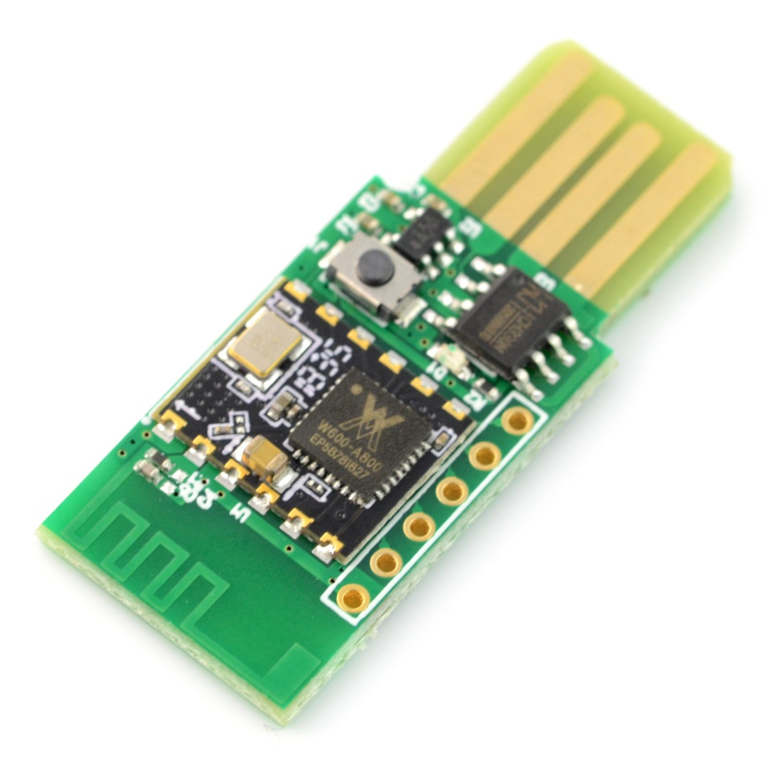 Air602 - płytka rozwojowa WiFi - W600 Cortex-M3