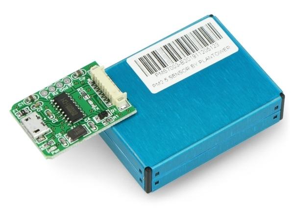 Adapter IDC10 1,27mm -microUSB