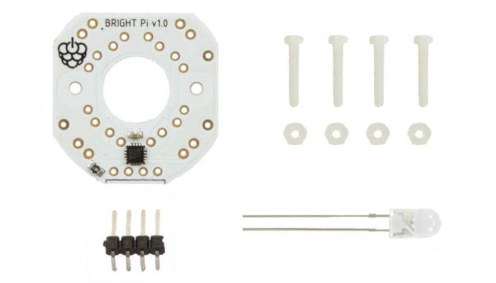 Bright  Pi - moduł oświetlacza LED i IR do kamery Raspberry Pi