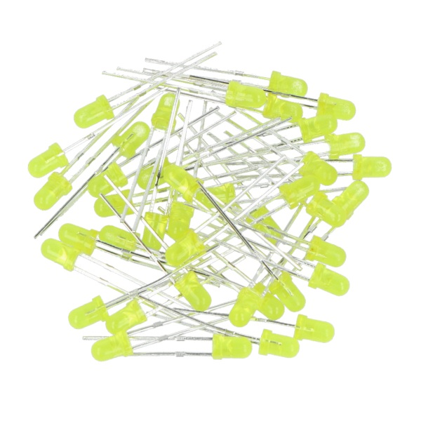 Dioda LED 3 mm żółta