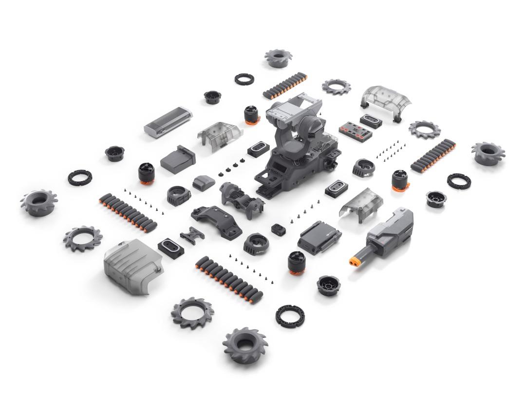 Zawartość zestawu DJI RoboMaster S1