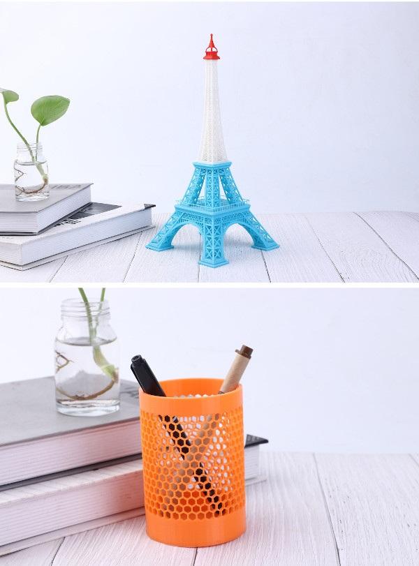 Gotowe modele wydrukowane przy pomocy Goofoo Tiny+