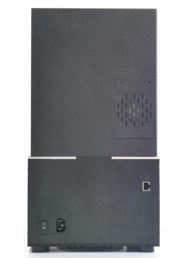 Wydajny wentylator z filtrem stosowany w SL1