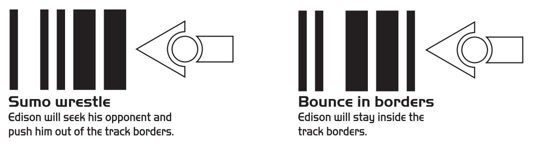 Programowanie robota Edison za pomocą kodów kreskowych