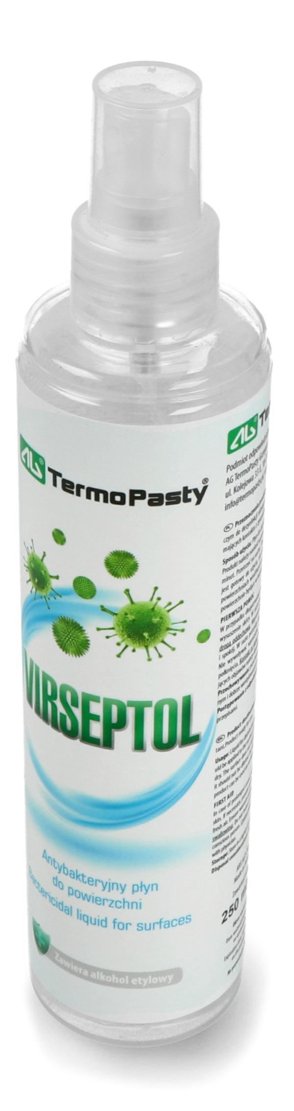 Antybakteryjny płyn do powierzchni Virseptol 250 ml