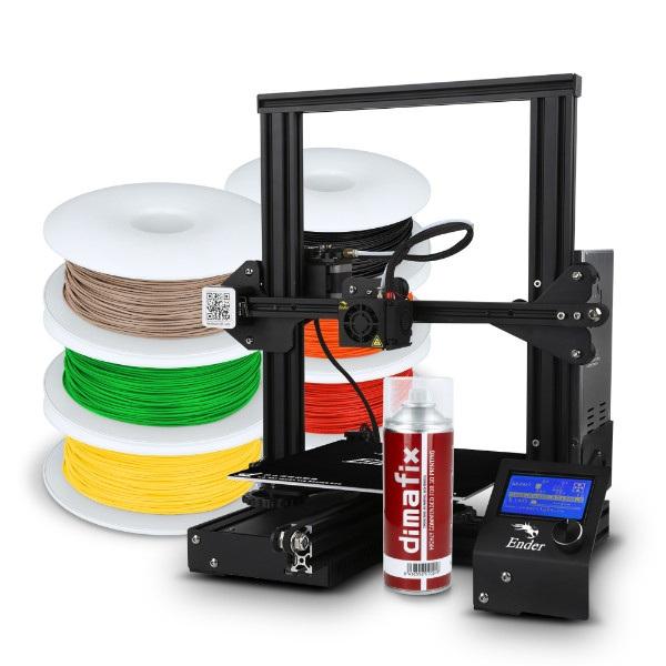 Zacznij drukować - zestaw z drukarką 3D
