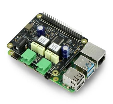 Nakładka IQaudIO DigiAMP+ dla Raspberry Pi