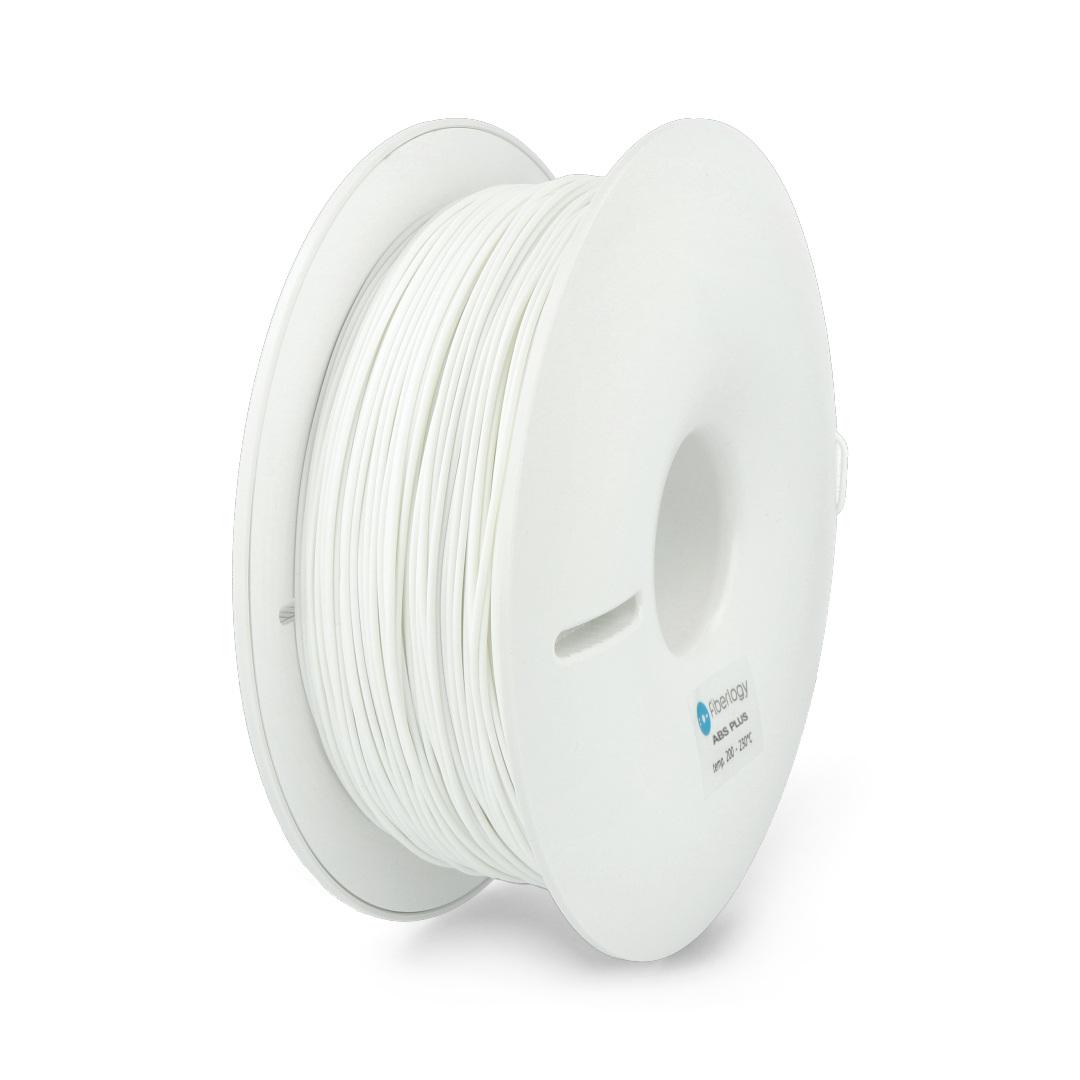Filament Fiberlogy ABS Plus 1,75mm 0,85kg - White