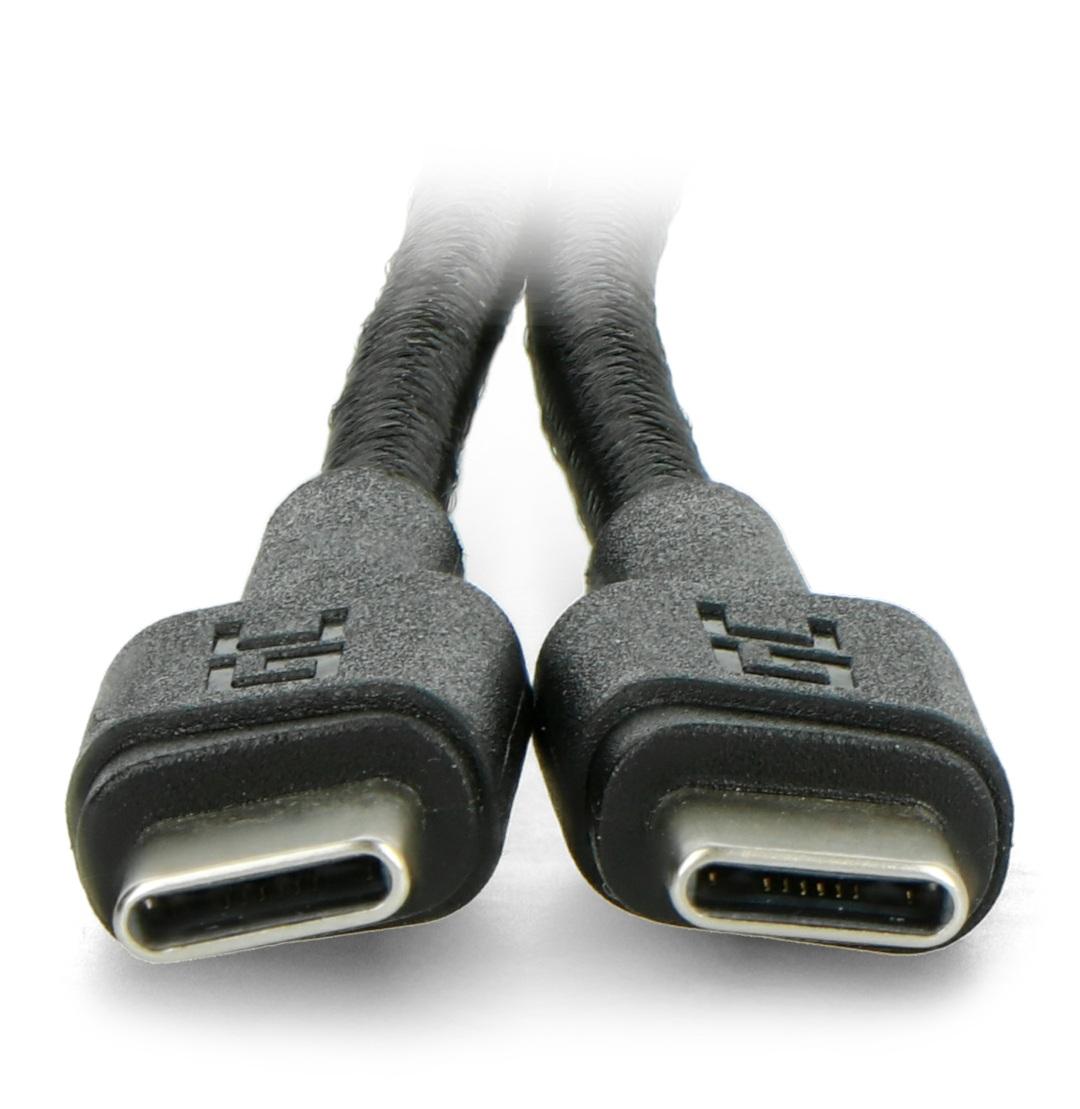 Przewód USB C - USB C od Green Cell o długości200 cm.