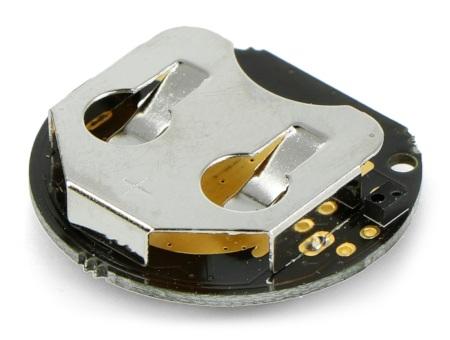 Czujnik odbiciowy iNode zasilany jest za pomocą baterii CR2032 (do nabycia osobno).