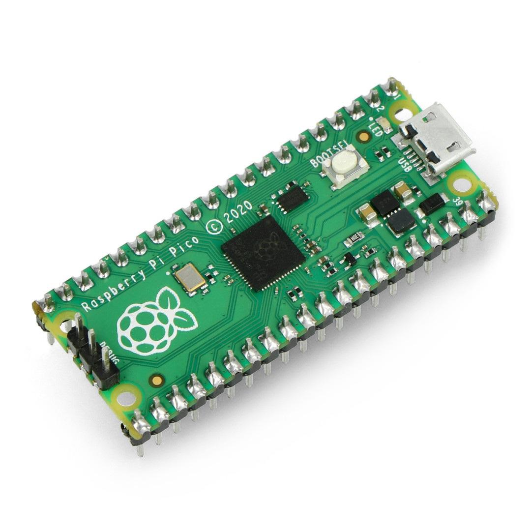 Raspberry Pi Pico ze złaczami