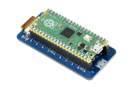 Wyświetlacz wykonany w technologii e-paper do Raspberry Pi Pico.