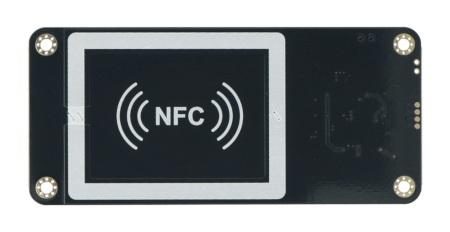 Obsługiwana częstotliwość komunikacji to 13,56 MHz.