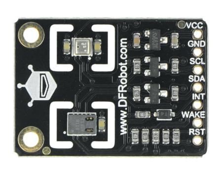Wielofunkcyjny czujnik środowiskowy wyprodukowany przez DFRobot.