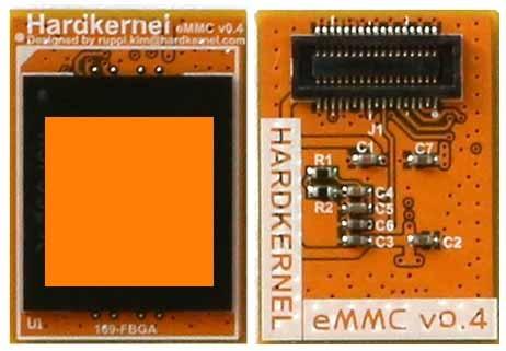 Moduł pamięci 64 GB wyposażony w system Linux.