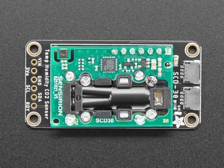 Moduł czujnika od Adafruit jest w pełni skalibrowany i zlinearyzowany.