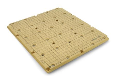 Miękka płyta pilśniowa wykorzystywana podczas pracy z modułem CNC.