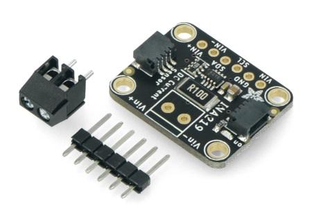 Dwukierunkowy czujnik prądu/mocy - INA219