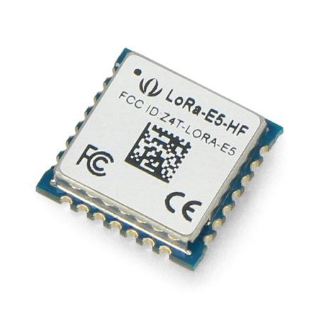 Wyposażony w32-bit ARM Cortex-M4 CPU.