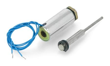 Elektromagnes pchający 12V 0,6kg 13mm