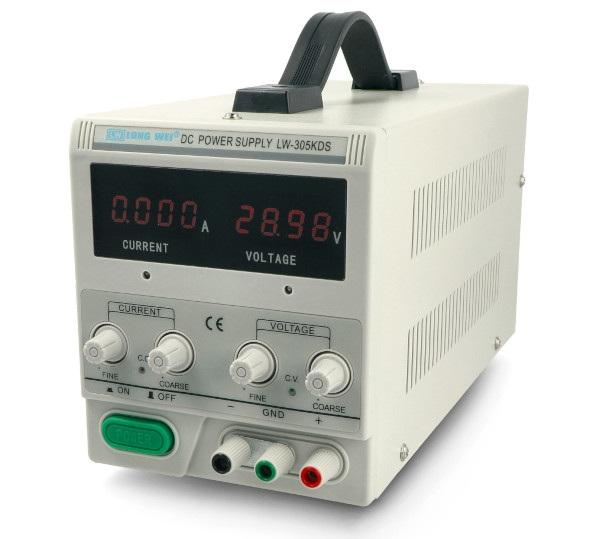 Zasilacz laboratoryjny precyzyjny LongWei LW-305KDS