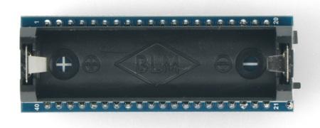 Nakładka posiada miejsce na jedno ogniowo akumulatora 14500.
