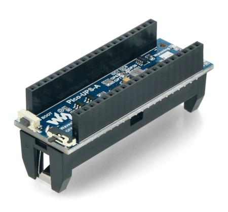 Moduł zasilania bezprzewodowego UPS do Raspberry Pi Pico.