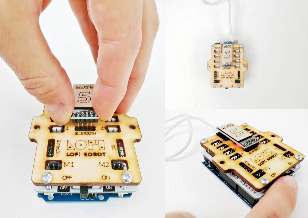 Podłączenie modułu Bluetooth do Lofi Brain